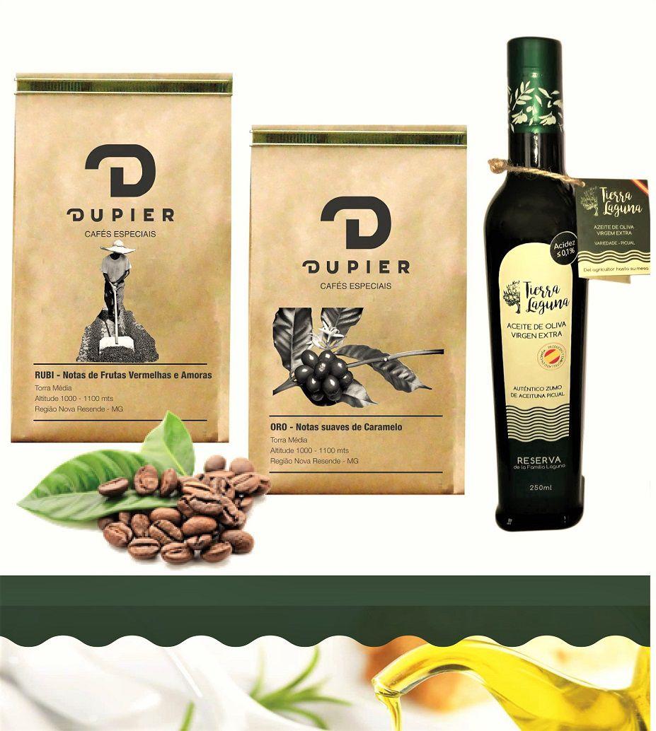 Dupier e Laguna - Café em Grãos e Azeite Tierra Laguna