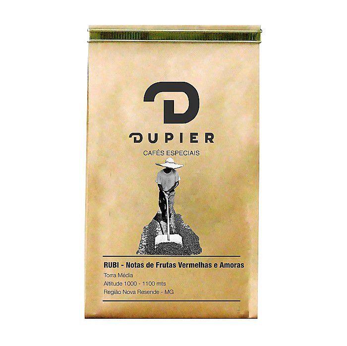 Café em Grãos Torrados RUBI 250g