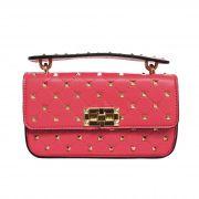 070ee293e Bolsa Mini Bag com Spikes Goiaba AY061-5