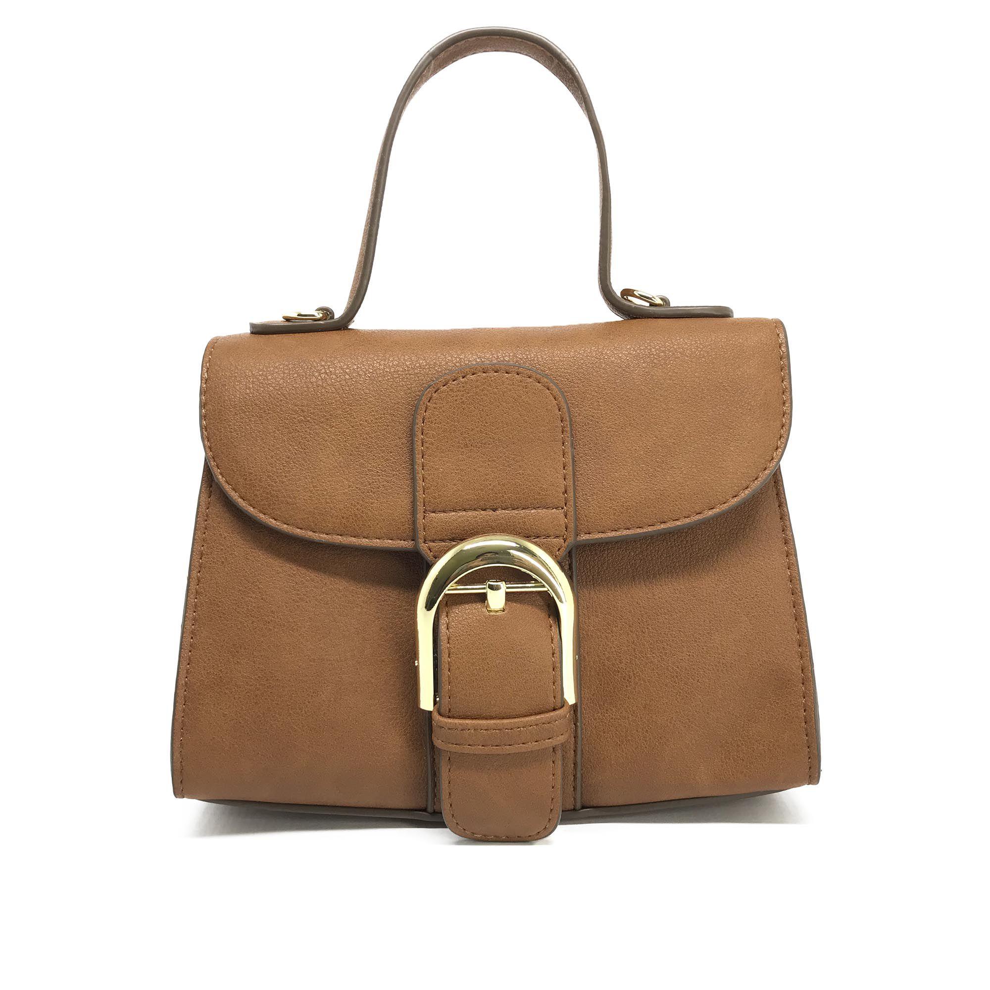 8d44469c0a Aymorez - Bolsa Transversal Mini Bag Caramelo AY063-6