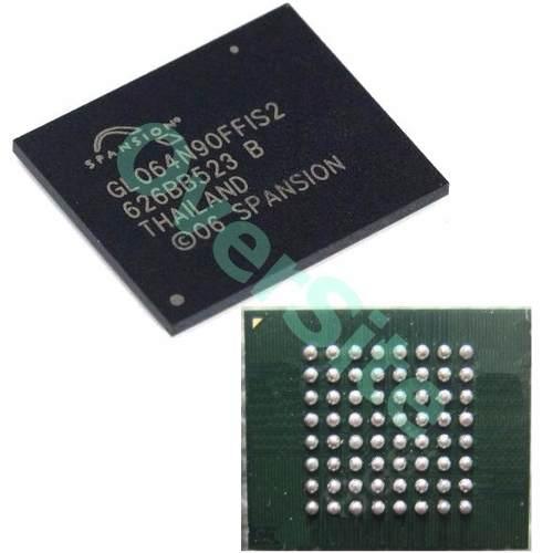 Bga Gl064n90ffis2 Spansion Chipset Memoria Flash Nova