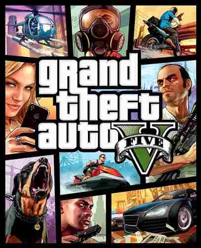 Gta 5 Grand Theft Auto V Mídia Física Original Xbox 360