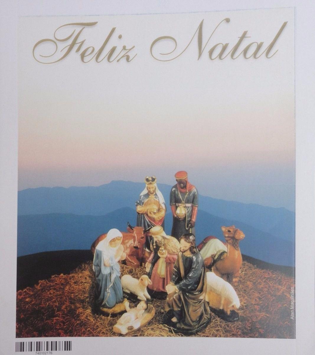 10 Cartão Natal Aerogramas Selado Presepio Reis Magos Jesus