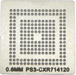 Stencil Ps3 Cxr714120 0,6mm Calor Direto Bga Reballing