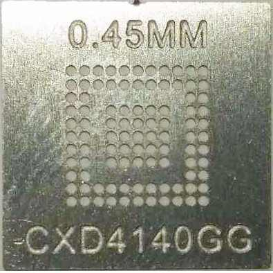 Stencil Cxd4140gg Lfbga-97 0,45mm Calor Direto Bga Reballing - GM5
