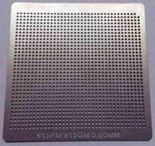 Stencil 915pm 915gm 0.60mm Reballing Bga Calor Direto