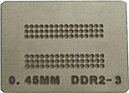 Stencil Ps4 Ddr2-3 0.45mm Calor Direto Bga Reballing