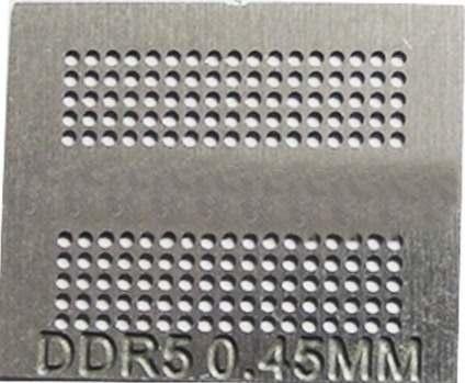Stencil Ps4 Gddr5 0,45mm Calor Direto Bga Reballing