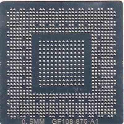 Stencil Gf-108-876-a1 Gt 650m Gpu Gk107 N13e-ge Calor Direto