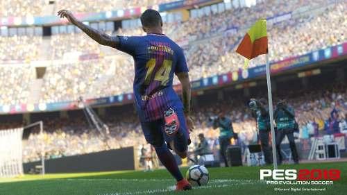 Jogo Pes 2019 Ps4 Fisica Lacrado Pro Evolution Soccer Novo