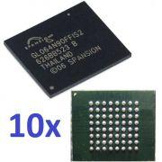 10x Bga Gl064n90ffis2 Spansion Chipset Memoria Flash Nova