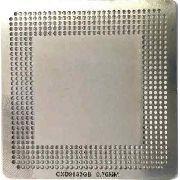 Stencil Cxd9833gb 0.76mm Calor Direto Bga Reballing - GM8