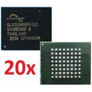 20 Bga Gl032n90ffis2 Spansion Chipset Memoria Flash Nova