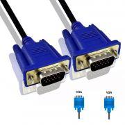 2x Cabo VGA Para Monitor Macho X Macho 1,5 Metros Com Filtro