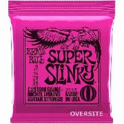 Corda Ernie Ball Guitarra Super Slinky 2223 Encordoamento