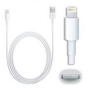 Cabo 1m Para Iphone 5 5c 5s 6 6s 7 8 Lightning USB 100cm