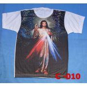 Camiseta Catolica  Religiosa Jesus Misericordioso