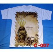 Camiseta Catolica  Religiosa Nossa Senhora Aparecida