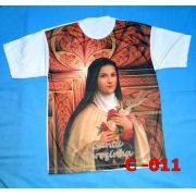Camiseta Catolica  Religiosa  Santa Terezinha