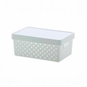 Cesto Caixa Organizadora Quadratta Paramount Plásticos 29X19X12 CM