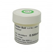 Esferas Solda Bga 0.5mm Chumbo Sn63 Pb37 250k 250mil Leaded