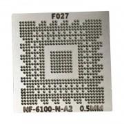 Estencil NF-6100-N-A2 NF-6100-430 Stencil Calor Direto 0,5mm - G15