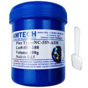 Fluxo de Solda Amtech NC-559-ASM 100g Original Lead Free