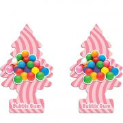 Full 2 Aromatizantes Little Trees Bubble Gum Original Cheirinho