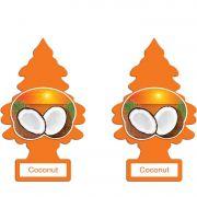 Full 2 Aromatizantes Little Trees Coconut Original Cheirinho