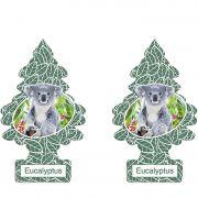Full 2 Aromatizantes Little Trees Eucalyptus Original Cheirinho