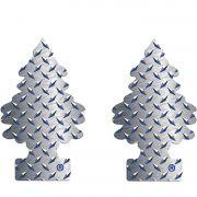 Full 2 Aromatizantes Little Trees Pure Steel Original Cheirinho
