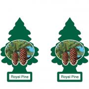 Full 2 Aromatizantes Little Trees Royal Pine Original Cheirinho