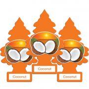 Full 3 Little Trees Coconut Original Cheiro Cheirinho Carro