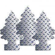 Full 3 Little Trees Pure Steel Original Cheiro Cheirinho Carro