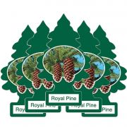 Full 5 Little Trees Royal Pine Original Cheiro Cheirinho Carro