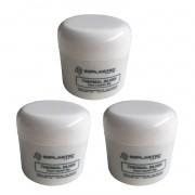 Kit 3 Pasta Térmica Thermal Silver Implastec Pote 50g Prata