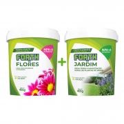 Kit Adubo Fertilizante Forth Flores + Jardim 400g Floração