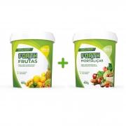 Kit Fertilizante Forth Frutas e Hortaliças 400g