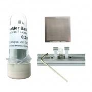 Kit Stencil Universal 0,3mm Solda Esfera 25k Bga Reballing + Suporte