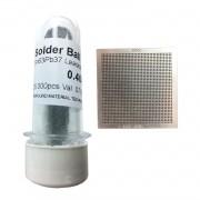Kit Stencil Universal 0,4mm Solda Esfera 25k Bga Reballing