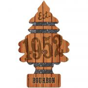 Little Trees Aromatizante Bourbon Car Air Freshener Automotivo