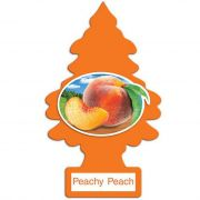 Little Trees Aromatizante Peachy Peach Car Air Freshener Automotivo