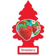 Little Trees Aromatizante Strawberry Car Air Freshener Automotivo