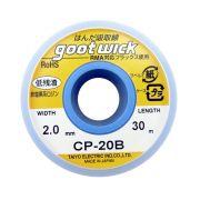 Malha Dessoldadora Goot Wick CP-20B 2.0mm X 30m Fita
