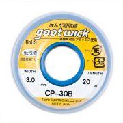 Malha Dessoldadora Goot Wick CP-30B 3.0mm x 20m Fita