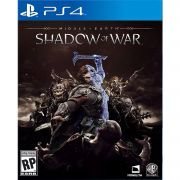 Middle-Earth Shadow Of War Mídia Física Original PS4 Lacrado