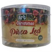 Pisca Pisca 100 Led Arvore de Natal Branco 8 Funcoes 110v