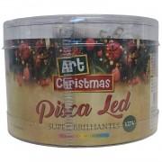 Pisca Pisca 100 Led Arvore de Natal Colorido 8 Funcoes 110v