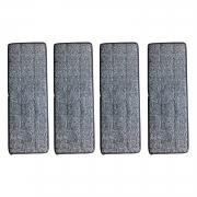 Refil De Microfibra 123 Útil Para Flat Mop Com 4 Peças – UD475