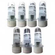 Solda Esfera Bga 7 Potes x 25k - 0.30 + 0.35 + 0.40 + 0.45 + 0.50 + 0.55 + 0.60mm (Com Chumbo)